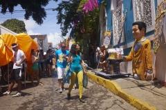 Casa Fruta Pão dans le Carnaval de Olinda