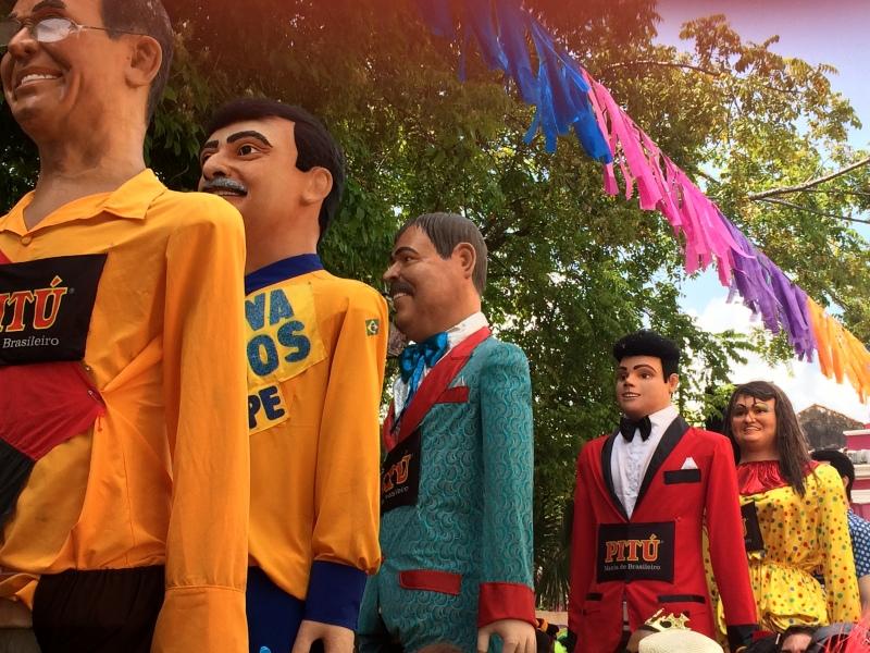 Carnaval de Olinda - Défilé des géants