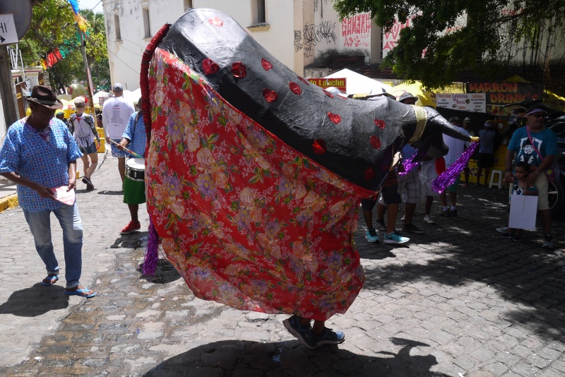 Carnaval de Olinda - Le bœuf