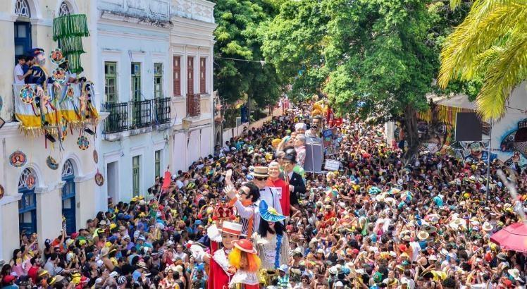 Carnaval de Olinda - Devant la mairie