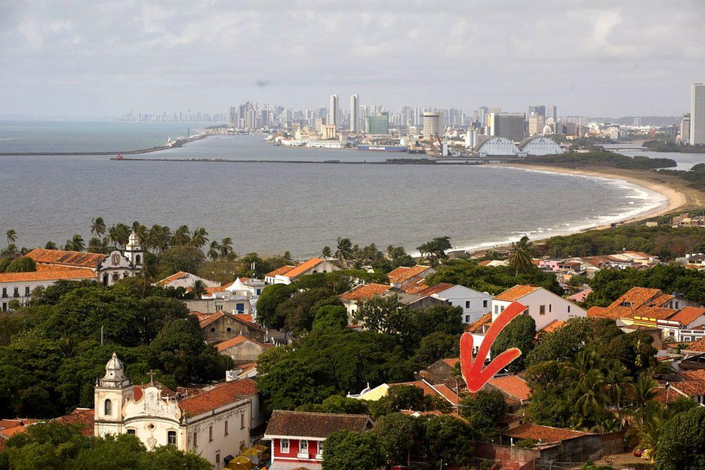 Historic center of Olinda, Brazil